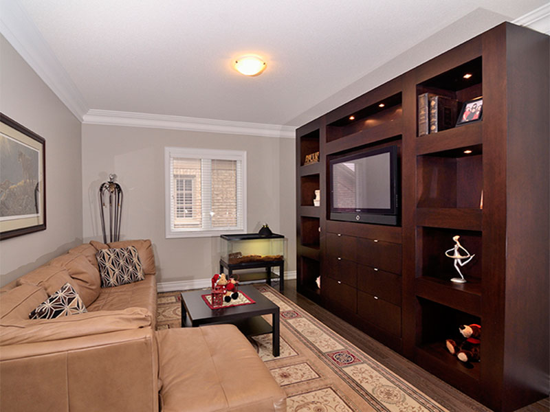 Toronto's Beautiful Built In Wall Unit
