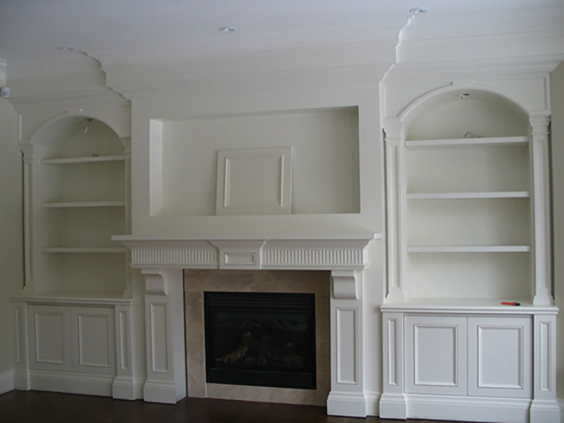 Custom Built In Wall & Entertainment Unit Toronto