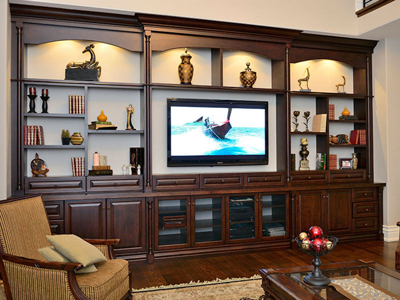 Toronto's Built In Wall Unit & Entertainment Unit