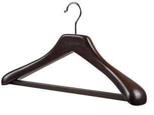 hanger - wooden suit
