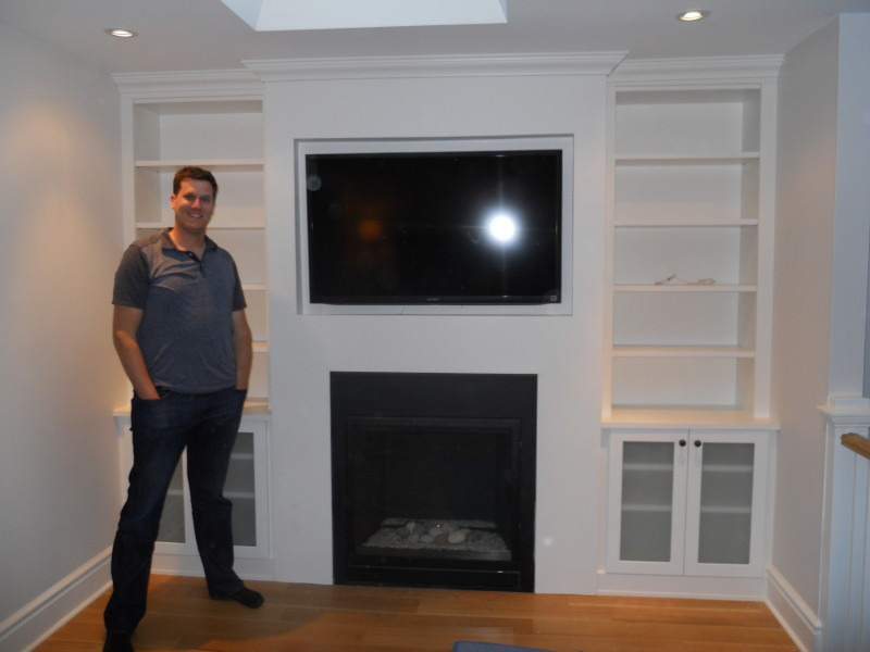 Custom Entertainment or Built in Wall Units Toronto