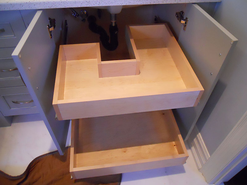 Bathroom Drawer Glides