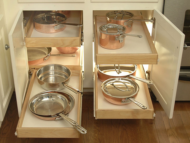 Kitchen Drawer Glides