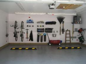 Organize Garage Walls