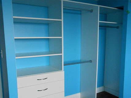 Reach In Closet Custom Made by Space Age Closets in Toronto, ON