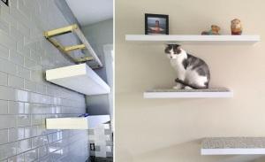 Proper Floating Shelves