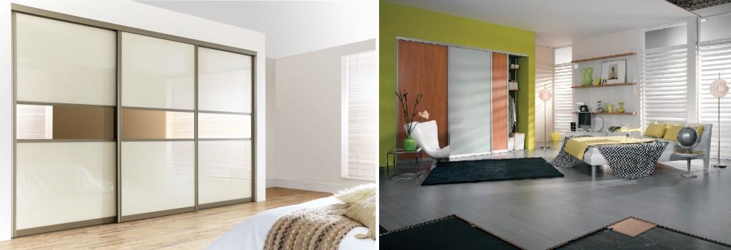 combo - menzo-sliding-door-wardrobe-from-wiemann-in-sahara-with-black-glass
