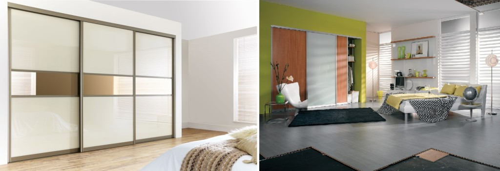 combo - menzo-sliding-door-wardrobe-from-wiemann-in-sahara-with-black-glass
