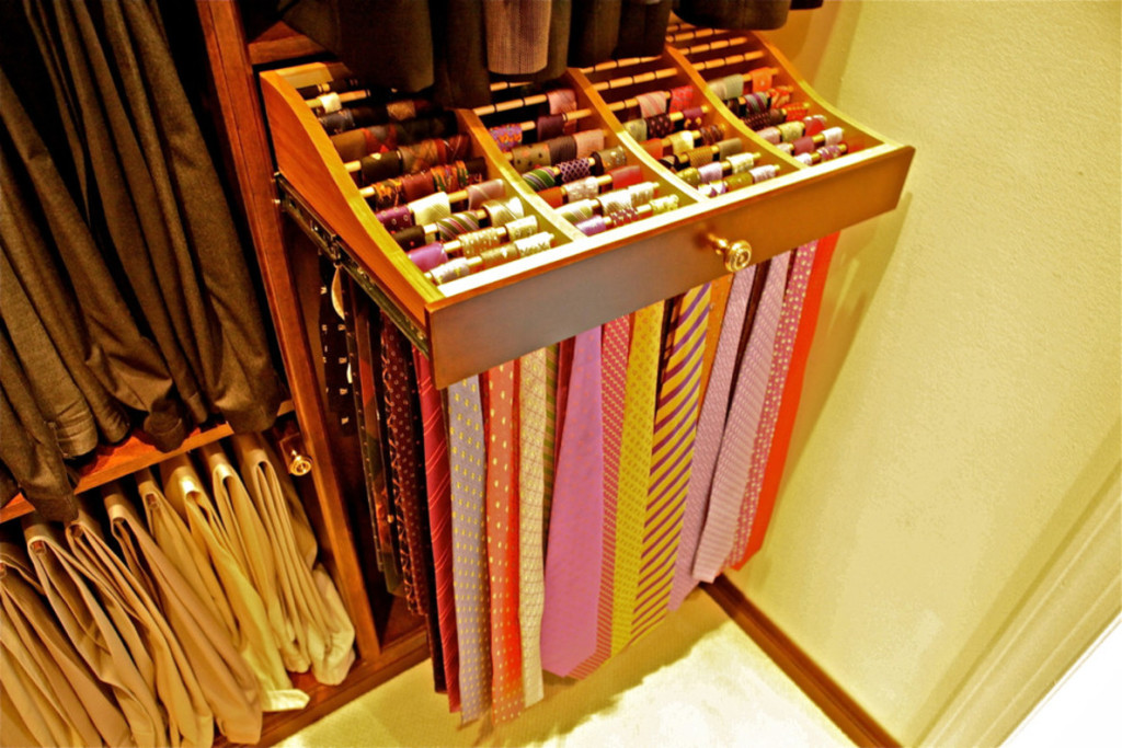 Tie And Belt Rack