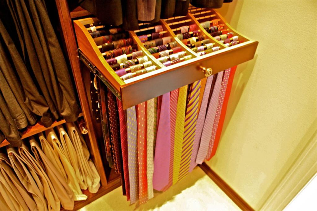 Tie And Belt Rack
