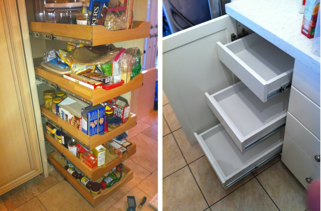 Kitchen Pull-Out Drawers