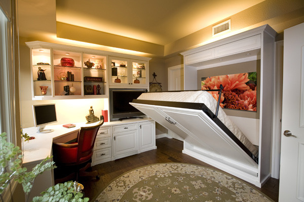 Traditional Murphy Bed for Home Office Toronto