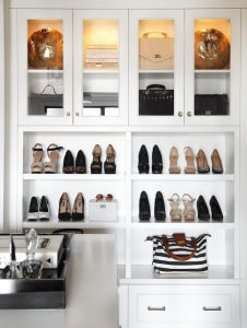 Closets & Cabinets For Books, Bags & Shoes