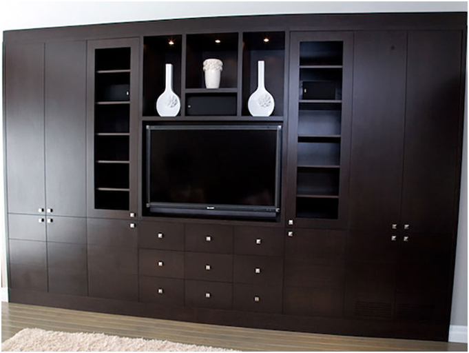 Add Style with Custom Wall Unit