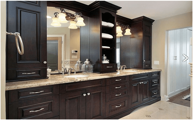 Professional Custom Bathroom Cabinets