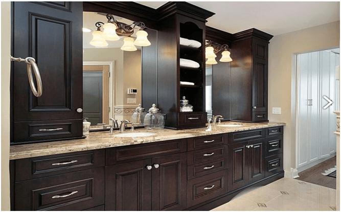 Professional Custom Bathroom Cabinets