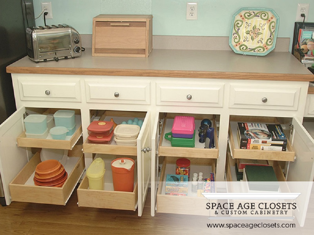 Closet Pantry Shelving Systems