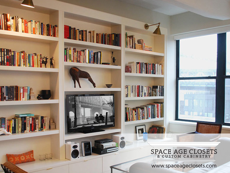 Custom Bookshelves In Toronto