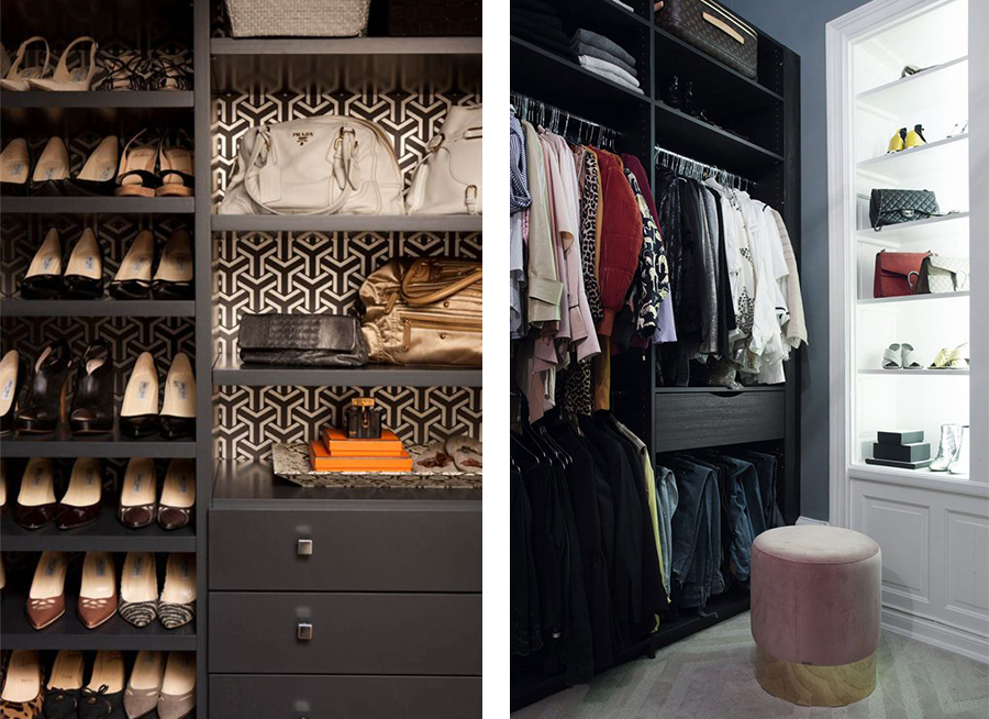 Walk In Closets-Dressing Room Area