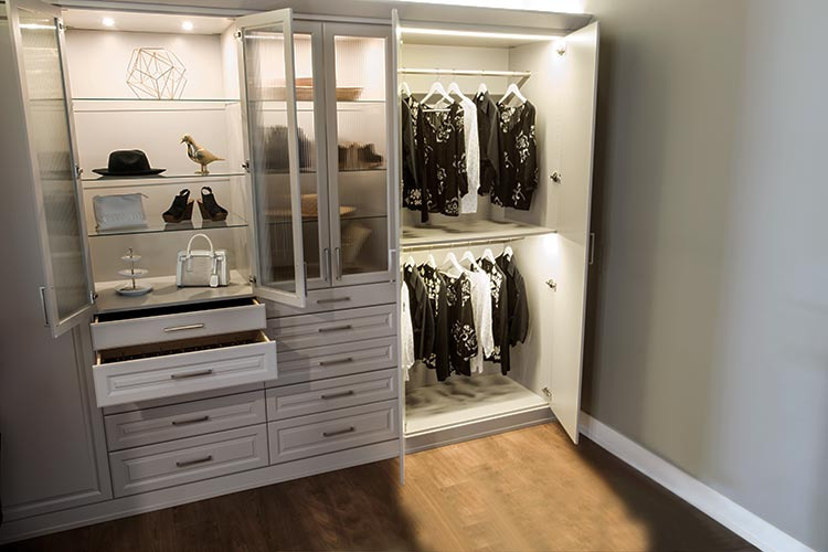 Custom closet and storage solutions by Space Age Closets in Toronto, ON