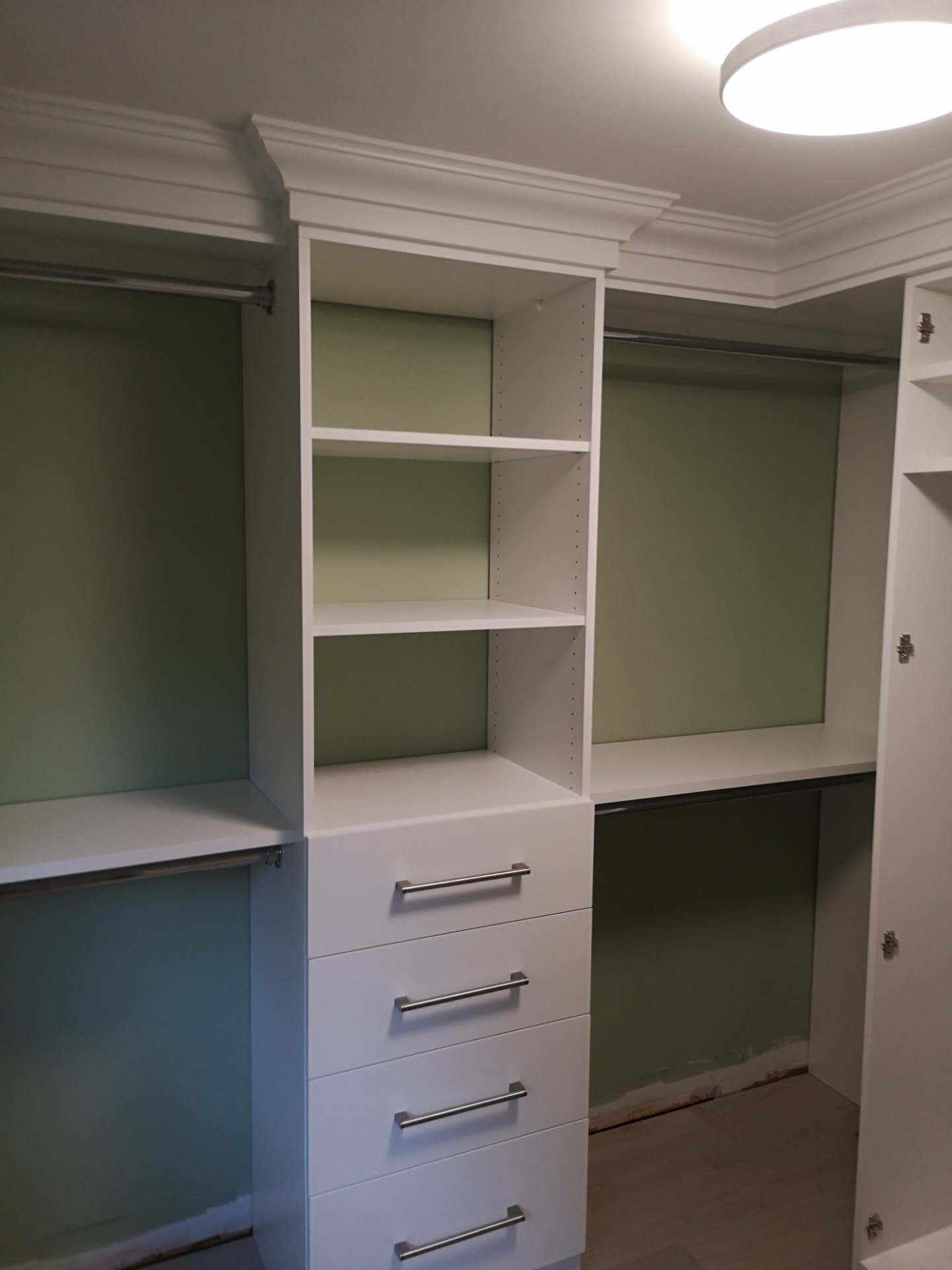 Custom Shelving Units by Space Age Closets in Toronto