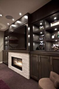 Custom Man Cave by Space Age Closets in Toronto, ON