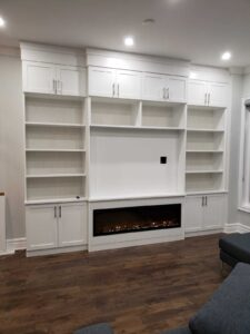 Custom Wall Units for Home by Space Age Closets in Toronto, ON