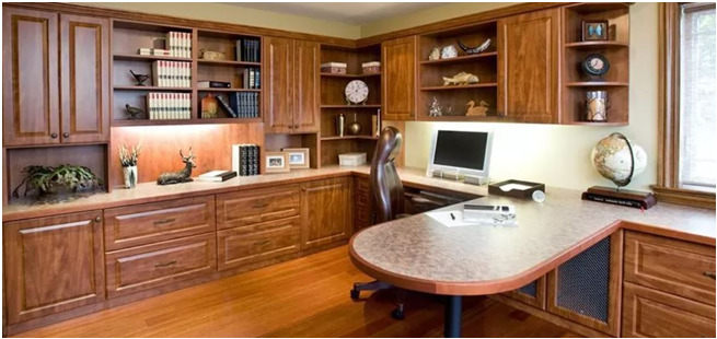 Stylish Home Office For Working Professionals